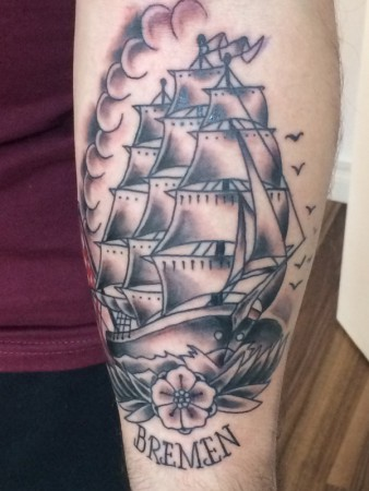 the-pink-elephant-tattoo_oldschool-segelschiff
